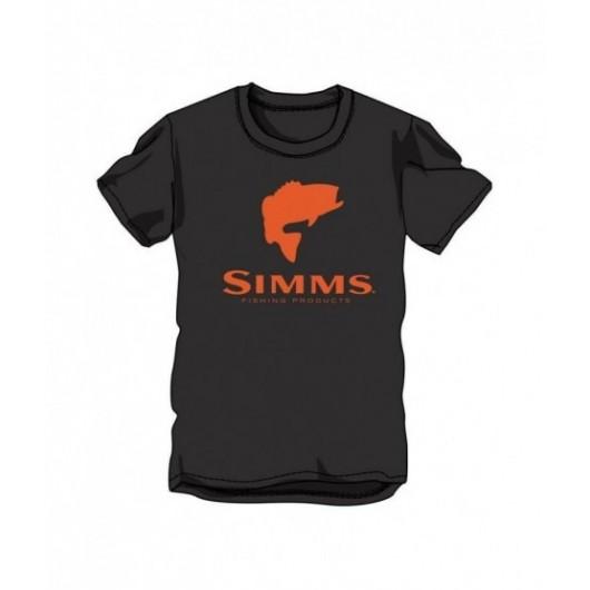 T-shirt Bass Logo Simms