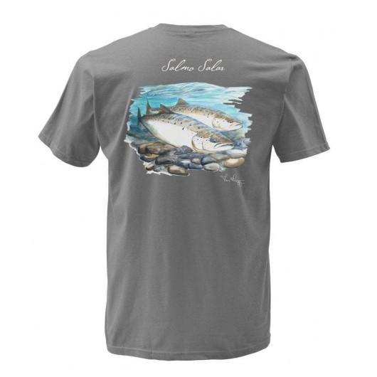 T-shirt Weiergang Saumon...