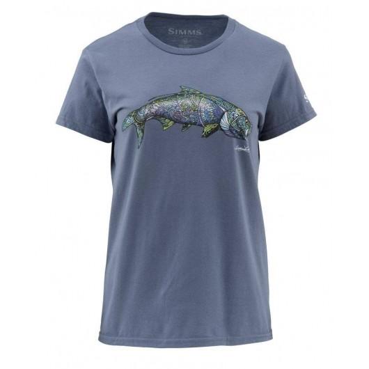 T-shirt femme Larko Tarpon...