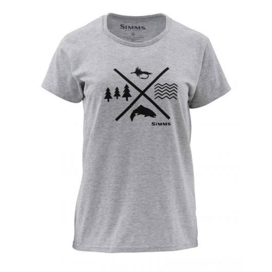 T-shirt femme Trout...