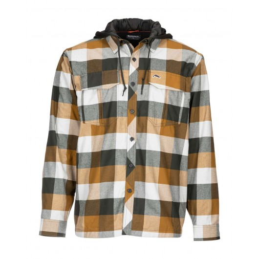 Coldweather Hoody Plaid Simms