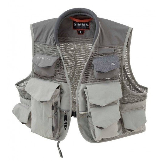 Gilet Simms - Maille verticale