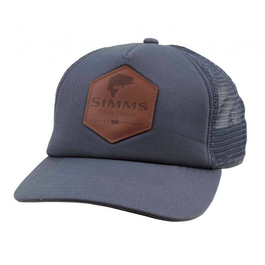 Casquette Simms - Leather...