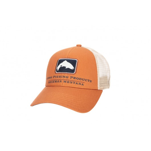 Trout Icon Trucker Simms...