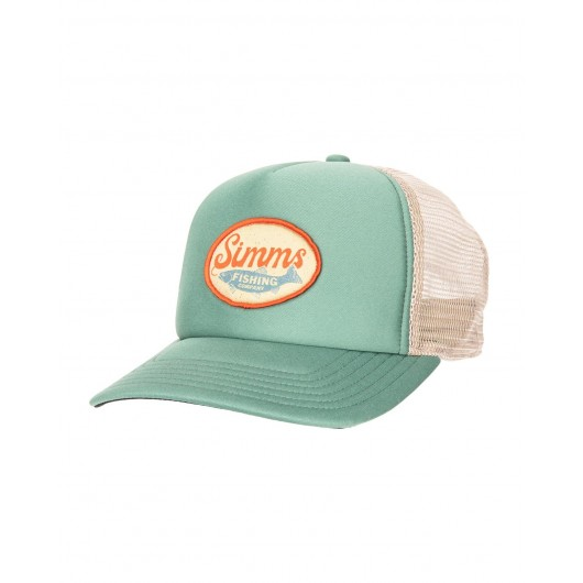 Small Fit Throwback Trucker Trout Wander Simms