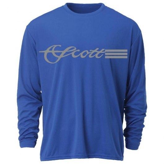 T-Shirt Longues Manches Scott