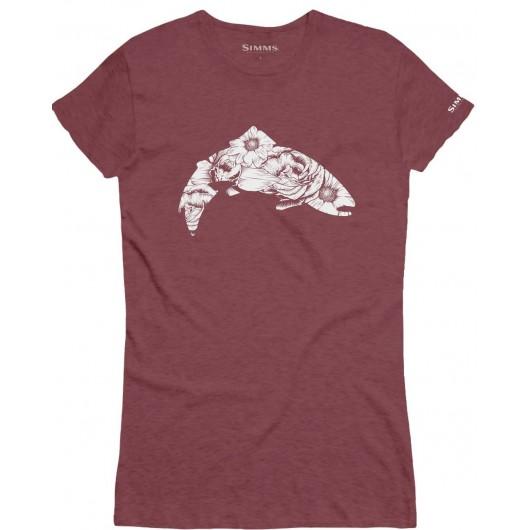 T-Shirt Femme Flora Trout...